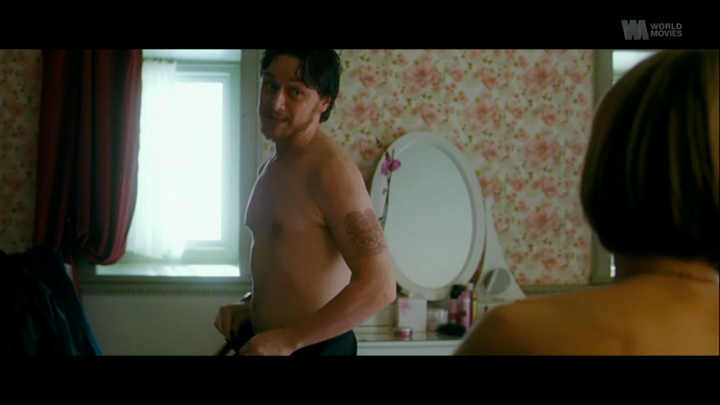 James McAvoy shirtless