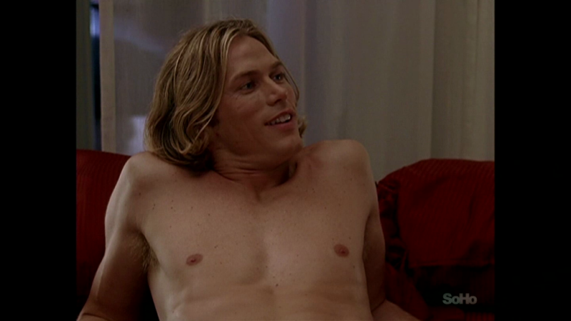 Jason Lewis shirtless