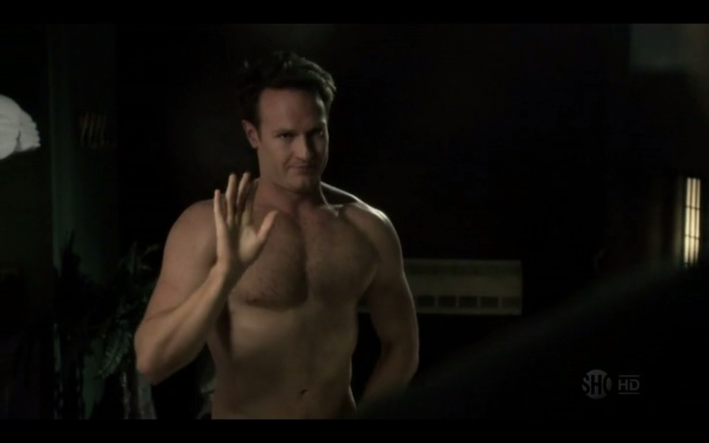 Josh Lawson shirtless