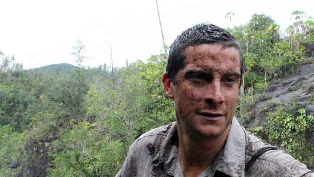 Survivalist Bear Grylls Naked