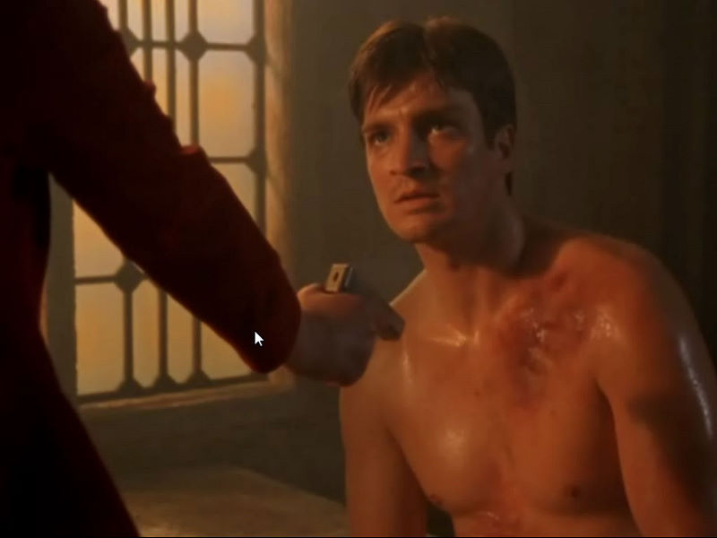 Nathan Fillion Naked