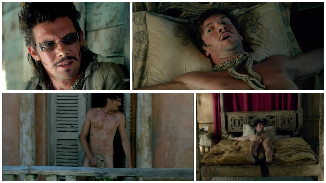 Toby Schmitz Naked on Black Sails