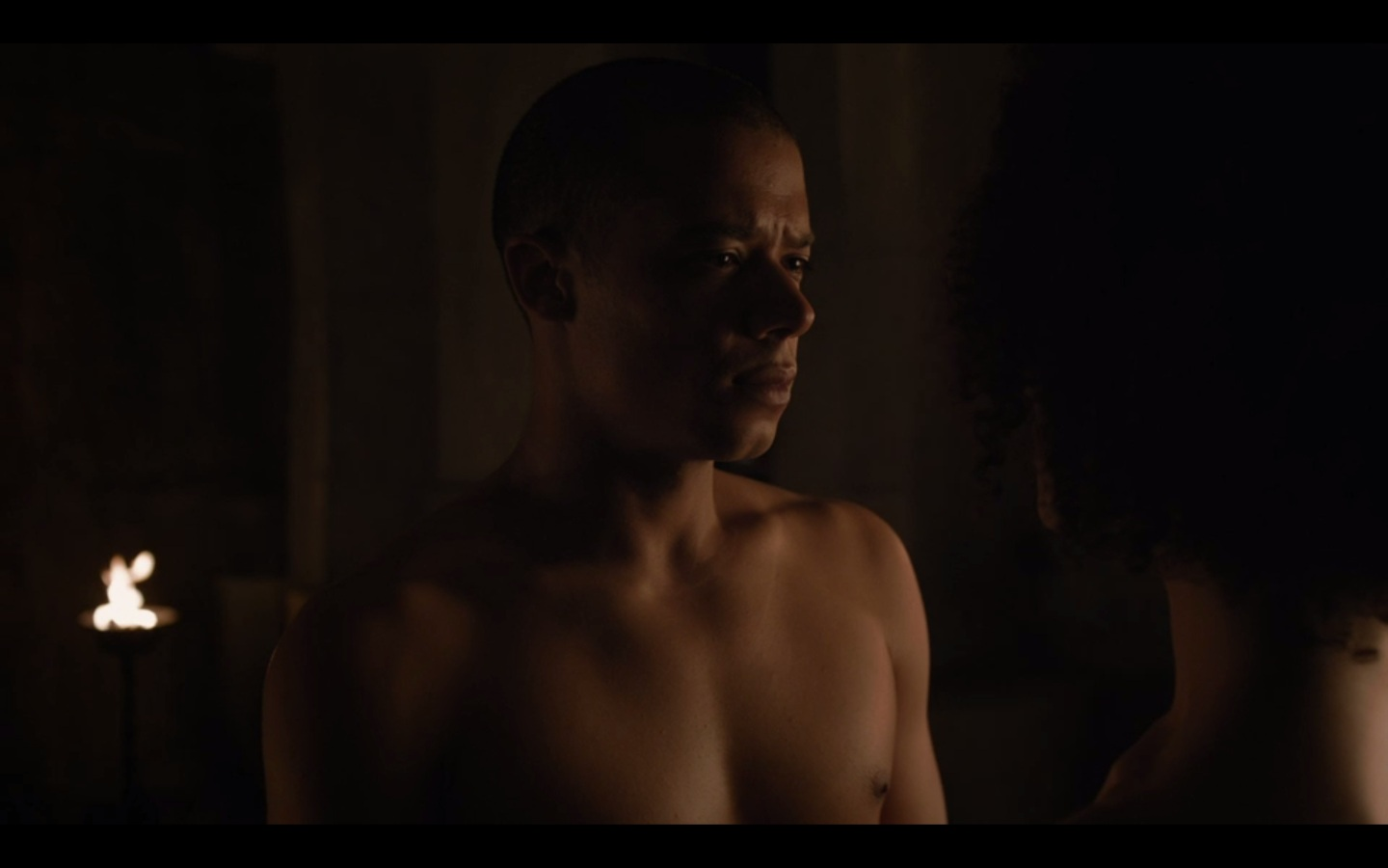 Jacob Anderson Naked on Game of Thrones
