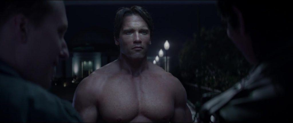 Arnold Schwarzenegger Nude Terminator Genisys