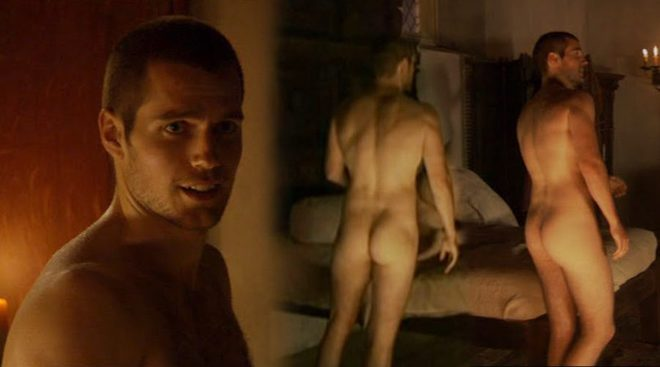 Henry Cavill Totally Nude