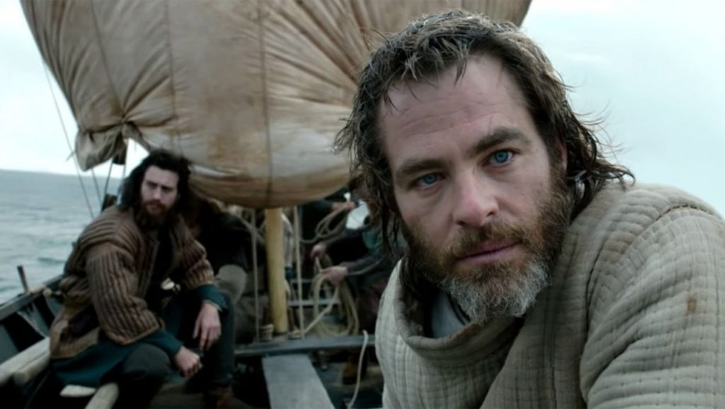 Chris Pine Nude in Outlaw King