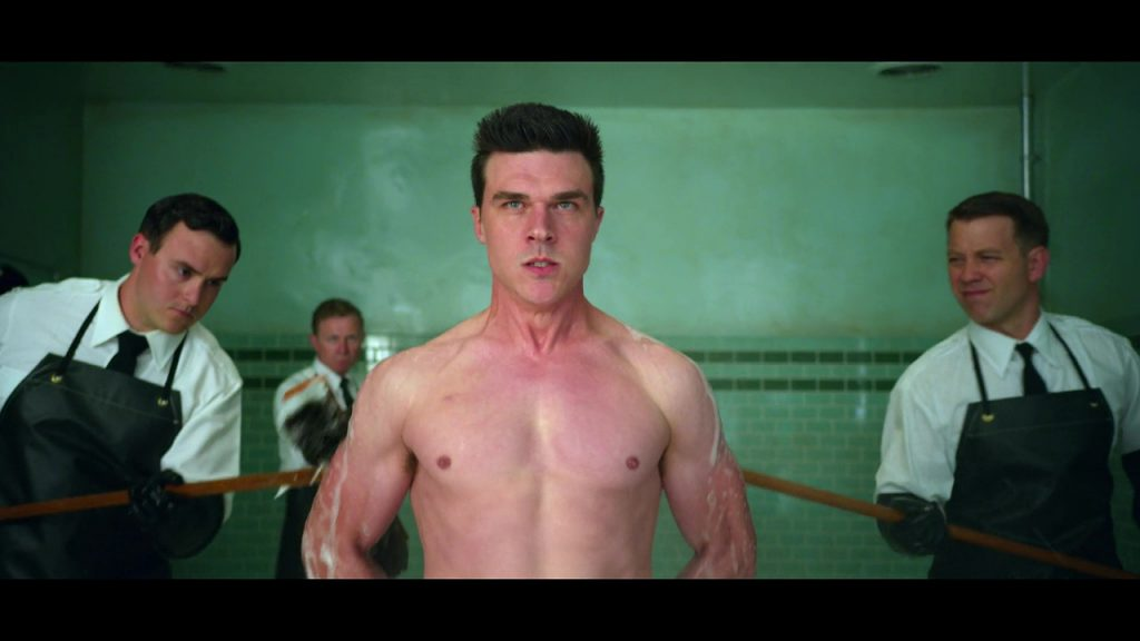 Finn Wittrock nude in Ratched