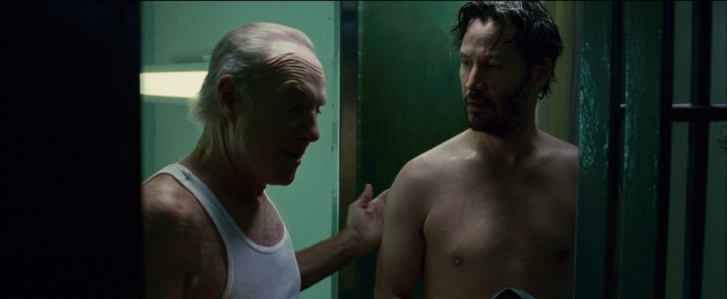 Keanu Reeves nude in Henry's Crime
