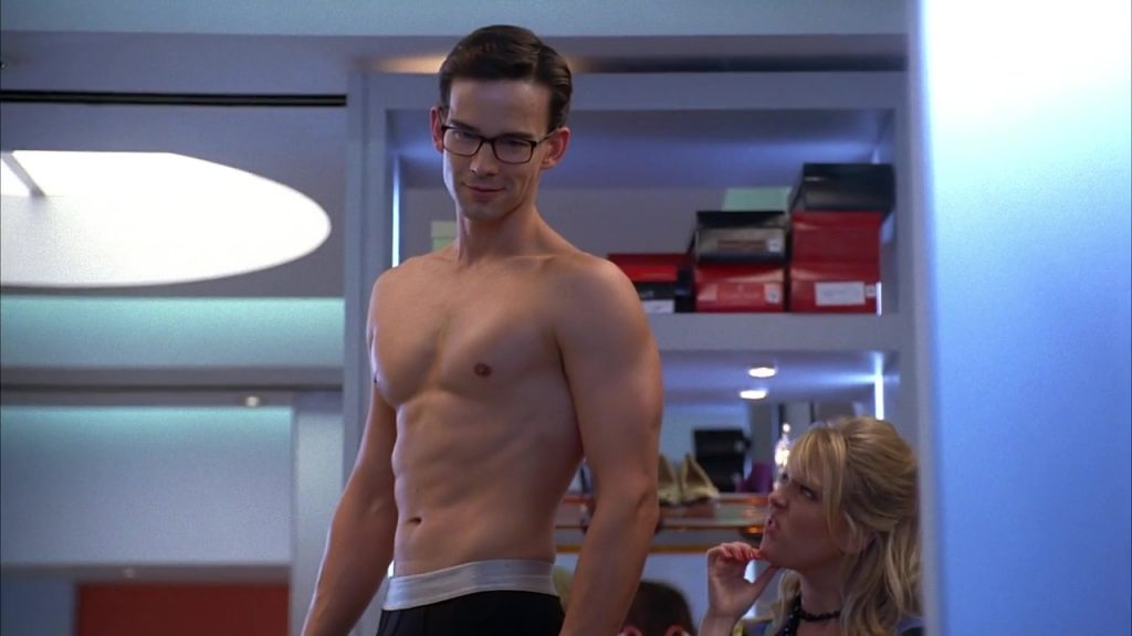 Christopher Gorham shirtless in Ugly Betty